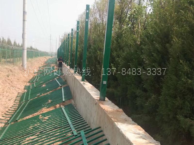 河道护栏网应用案例